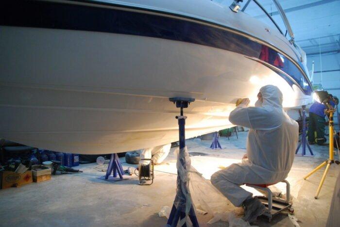 Чистка лодок